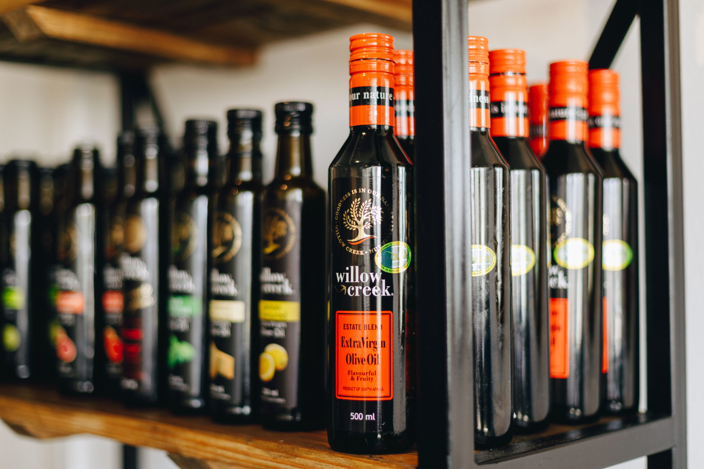 Willow Creek Flavoured Olive Oils